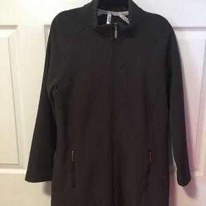 Jockey Softshell Fleece Lined zip long jacket
